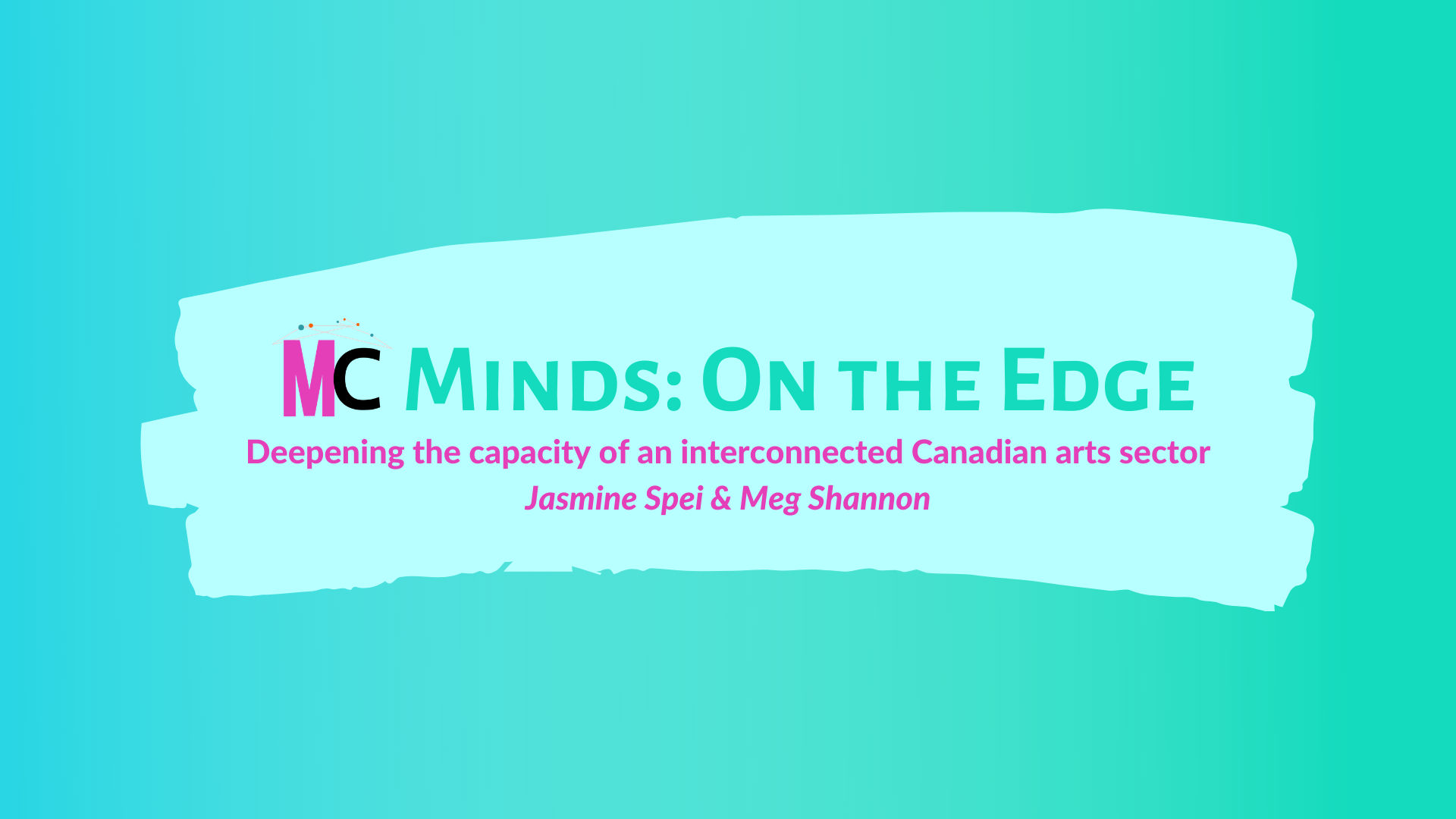 MC MINDS ON THE EDGE – Introducing MC Minds