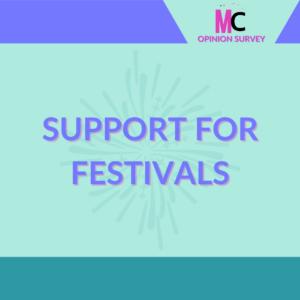 Support for Festivals